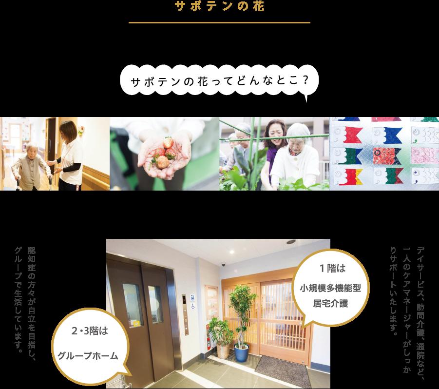 【介護職・ヘルパー/大阪市東住吉区】 グループホーム サボテンの花 (正社員)の画像1