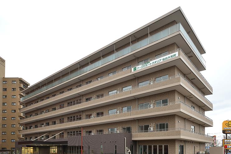 【介護職/仙台市若林区】有料老人ホームクオリア仙台大和町(正社員)の画像1