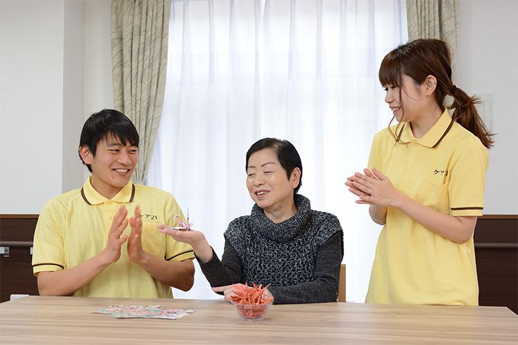 【介護職/大阪市阿倍野区】 グループホーム たのしい家帝塚山 (正社員)の画像1